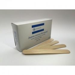 Стерилни дървени шпатули за език - Solea 100 броя.