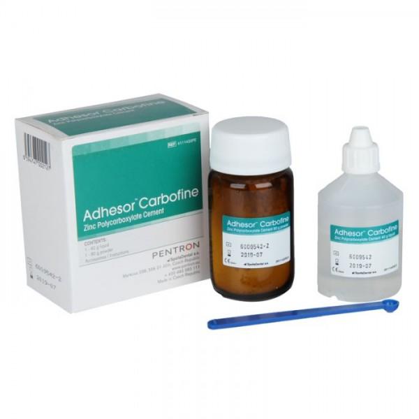 Adhesor Carbofine - Цинк-поликарбоксилатен цимент / прах + течност