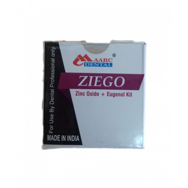 Каналопълнежно ZIEGO - Zinc Oxide+Eugenol KIT